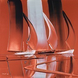 Bronze Reflections  by Duncan MacGregor -  sized 18x18 inches. Available from Whitewall Galleries